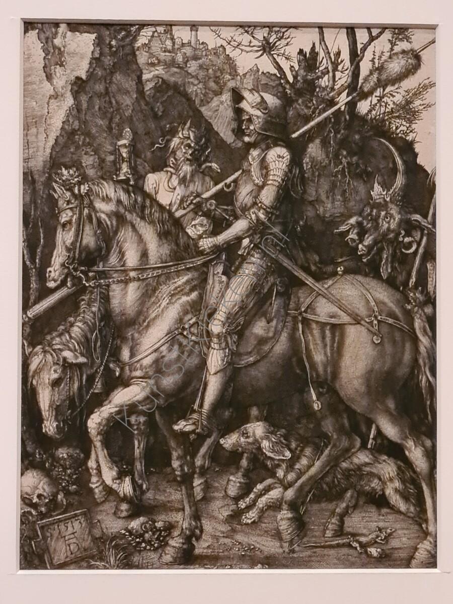De-Ridder-De-Dood-en-De-Duivel-1513-Albrecht-Durer