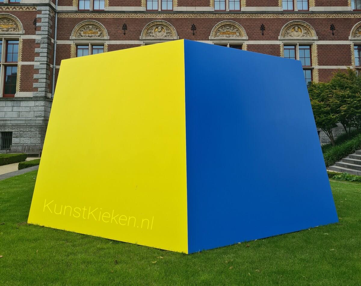 Ellsworth Kelly - Yellow Blue