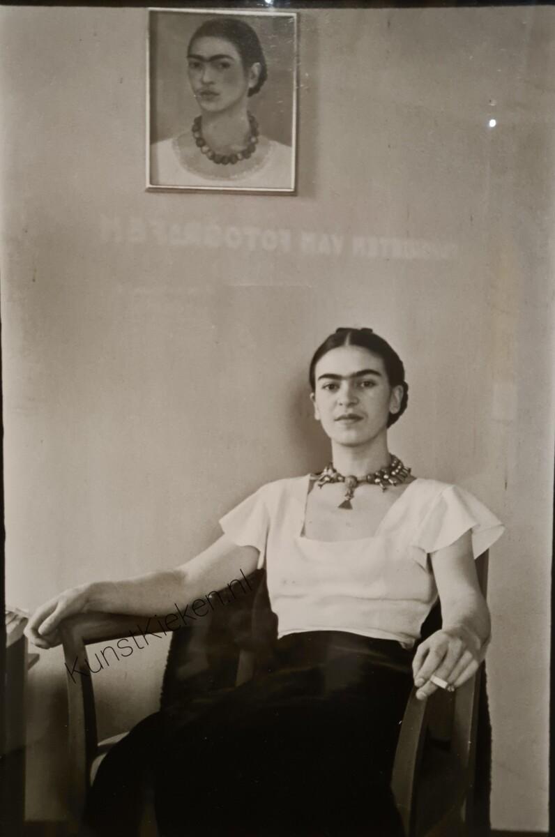 Frida bij het Barbizon Hotel Plaza Hotel - Lucienne Bloch