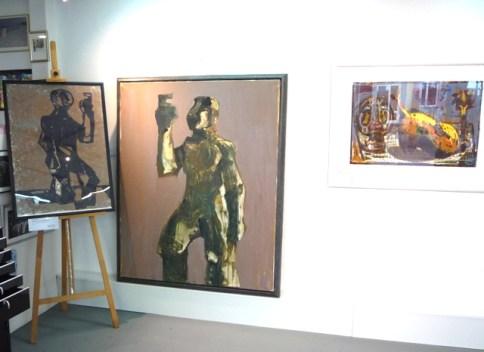 Ausstellung Markus Lüpertz Clitunno 08.04.11 - 06.05.11