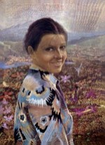 Elisabeth Schaefer Deutschland Eitempera-Harzlasur 1989 30x40cm