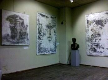 5 Ausstellung Jana Bergemann, KUNSTMASSNAHMEN Jürgen Leibig