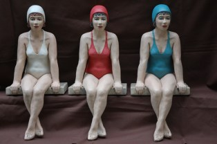Schwimmerinnen Gabriele Koebler