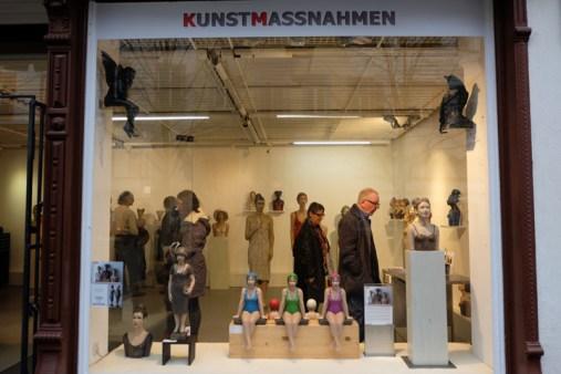 Ausstellung KUNSTMASSNAHMEN Koebler