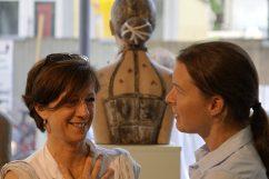 Gabriele Köbler und Alena Steinlechner