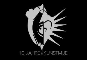 10 Jahre Kunstmue Festival Logo