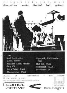 Kunstmue Festival Bad Goisern Flyer 2004 (JPG)