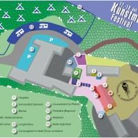 Kunstmue Festival Bad Goisern 2015 - Geländeplan