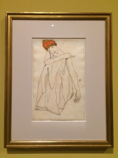 Egon Schiele. Die Tänzerin. 1913