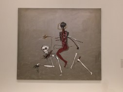 Basquiat. Riding with death. 1988.