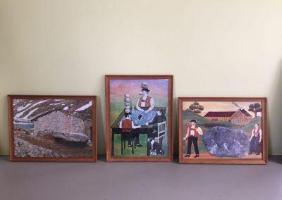 Die Berghütte, Der Jass, Der Oberegger Stein