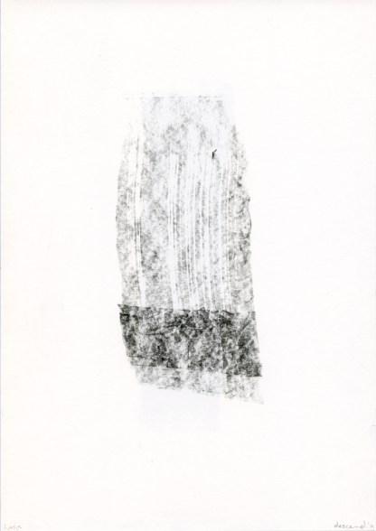 Descend Liesje van den Berk Grafietpotlood op papier 21 x 29,7 cm