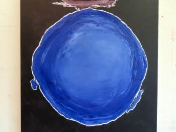 Detail van werk van Roelien van Aalderen