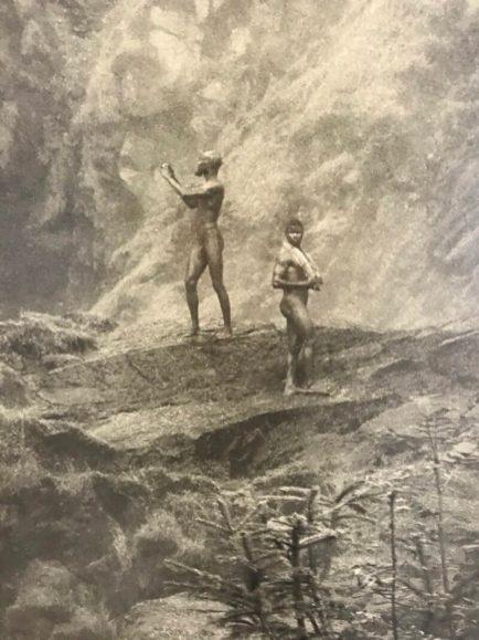 Erwin Olaf, Im Wald, Am Wasserfall, 2020 (detail)