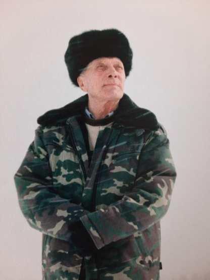 De rus Gennady Tugushin, getekend door het leven in het bos. (Detai)l foto: Jeroen Toirkens