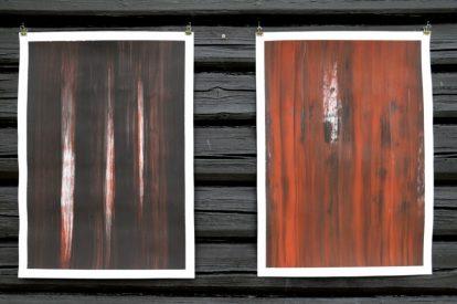 Werk van Antoon Loomans bij Galleri Henneviken.