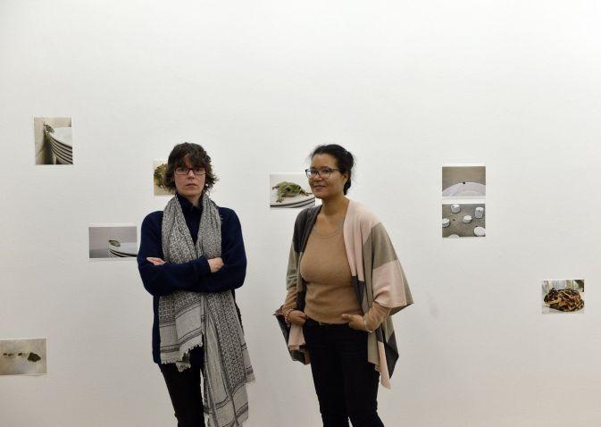 Besucherinnen in der Ausstellung, Foto: Harald Sippel