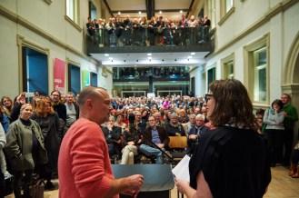 Statt Rede: Zehn Fragen, zehn Antworten, Foto: Markus Faber