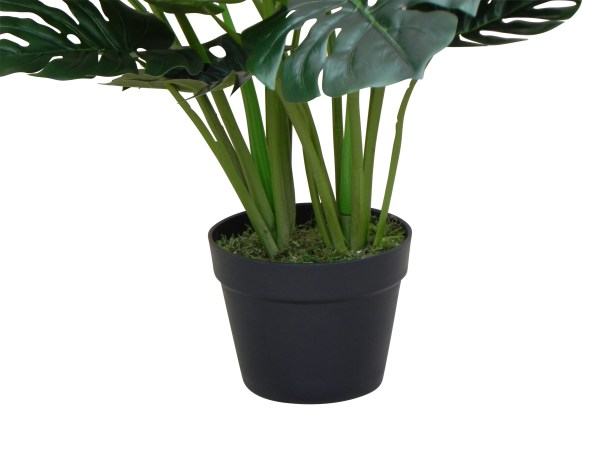 Kunstplant Monstera (60 cm) - Kunstplantwebshop.nl
