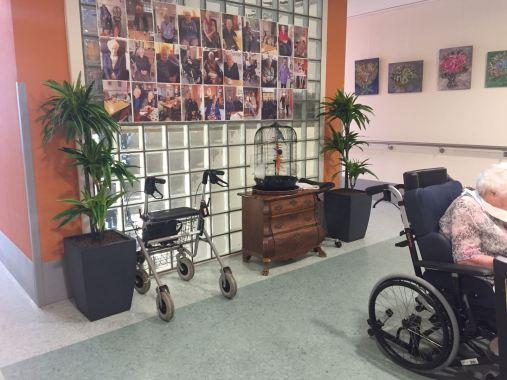 Kunstplanten in verzorgingstehuis - Projectbeplanting - Kunstplantshop.nl