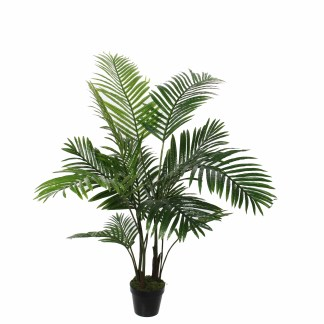 HTT Decorations - Kunstplant Areca palm (120x60cm) - Kunstplantshop.nl