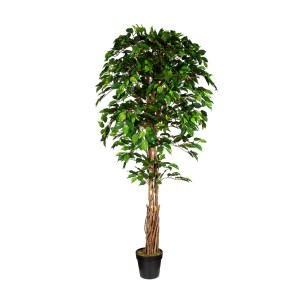 HTT Decorations - Kunstplant Ficus H180 cm - kunstplantshop.nl
