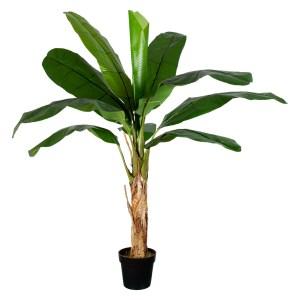 HTT Decorations - Kunstplant Bananenplant H150cm - kunstplantshop.nl