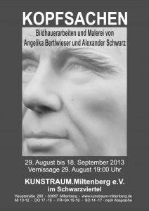 Plakat A4 - Schwarz+Bertlwieser