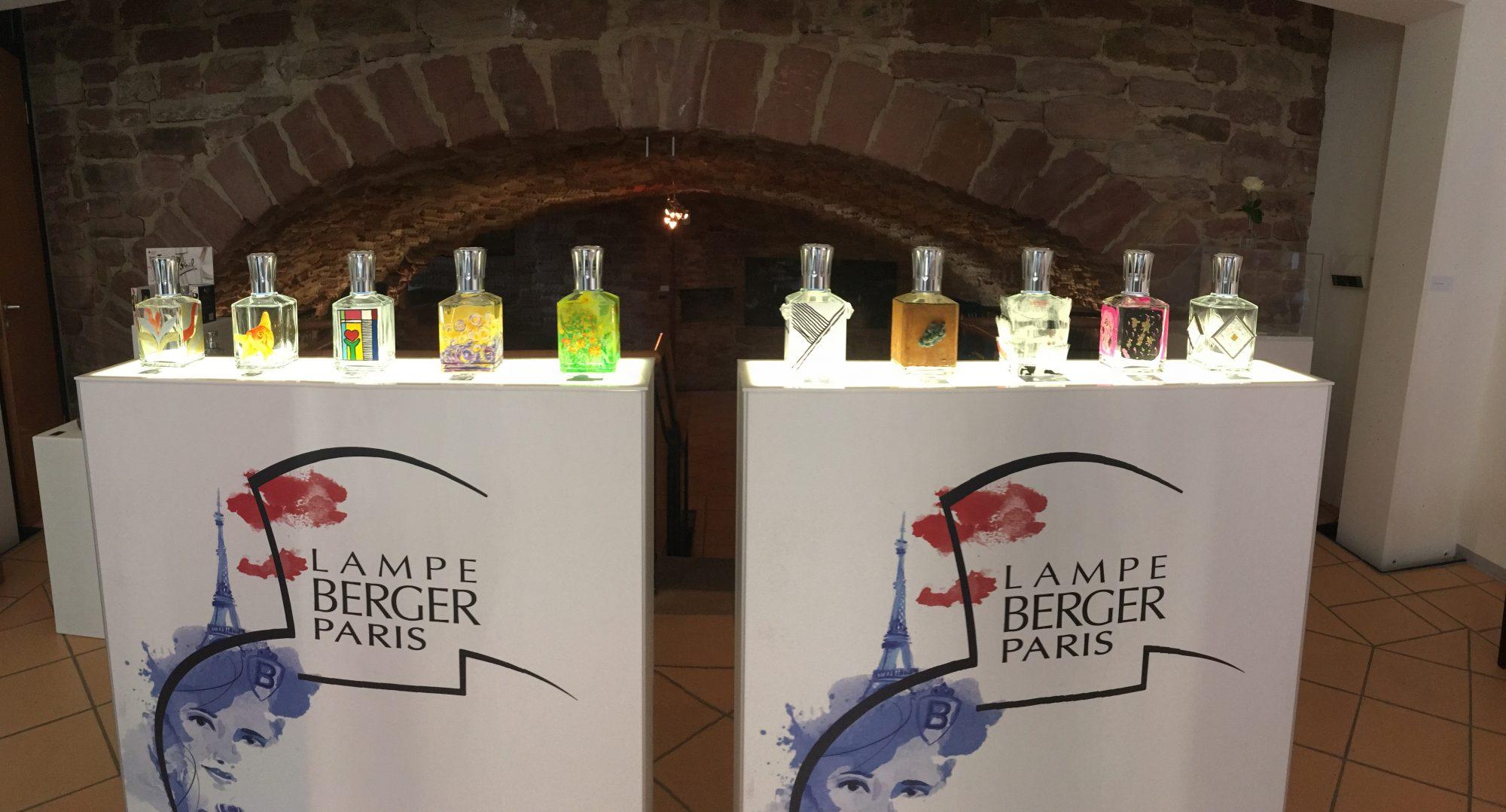 Lampe Berger, Paris
