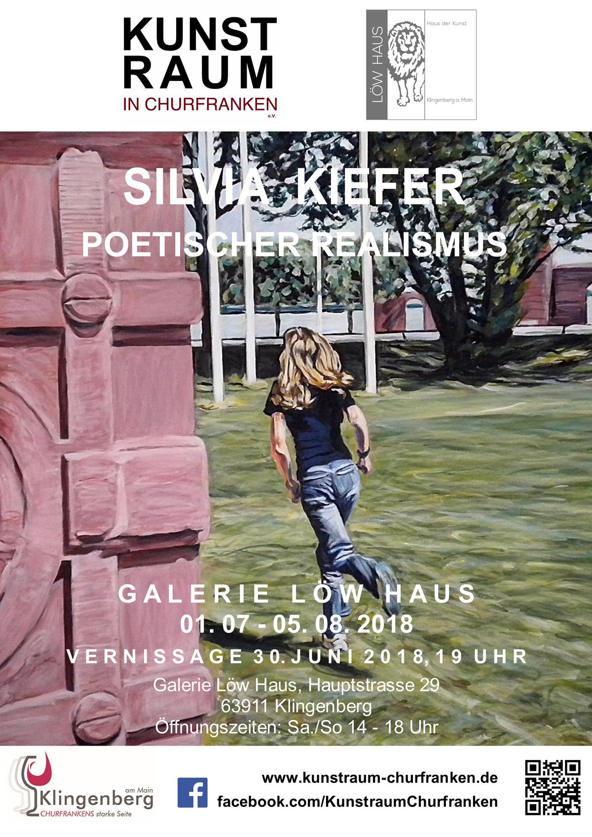Ausstellung SILVIA KIEFER, 01.07.-05.08.18