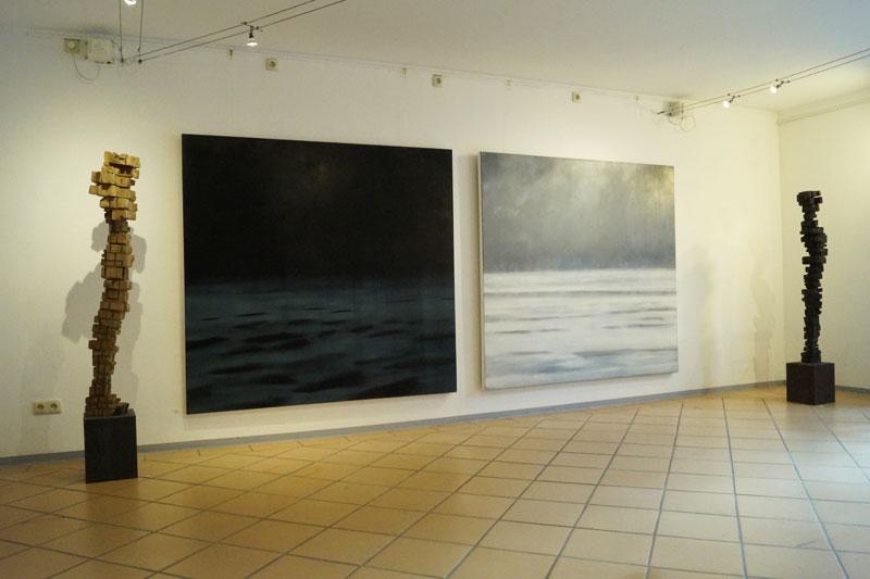 """Ausstellung """"Bild und Skulptur"""" Frank Krämer und Konrad Franz"""