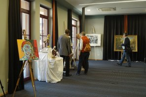 Kunst und Kulinarisches im Niedernberger Seehotel 05 - 07.04.2019