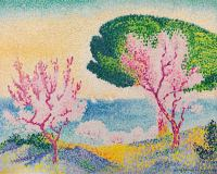 Henri-Edmond Cross, Rosafarbener Frühling, 1909, Privatbesitz, courtesy Richard Green Gallery, London