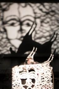 Kleists Kohlhaas im Puppentheater Gera - Szenografie   Puppenbau: Sylvia Wanke - Foto: Stephan Walzl