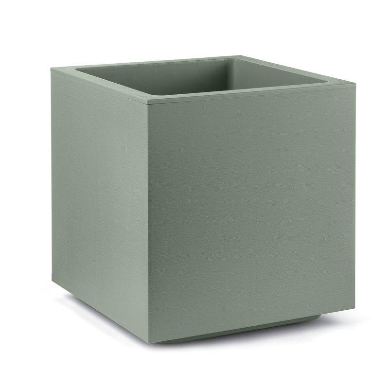 Bloempot Matheria, H40 cm, groen - VECA
