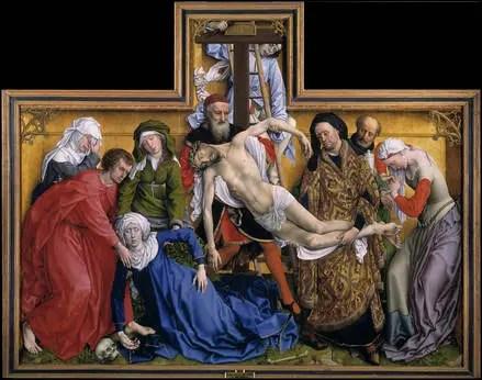 Rogier van der Weyden - de Kruisafneming