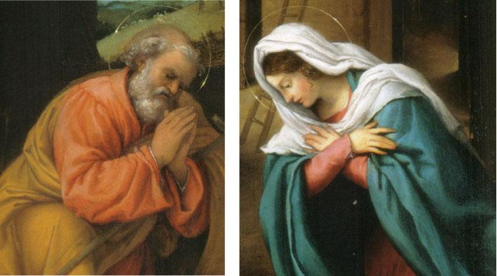 Jozef en Maria uit