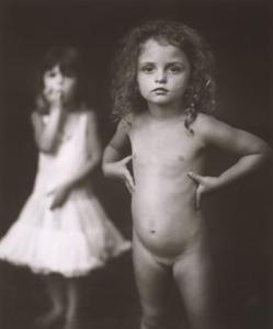 Virginia, 4 jaar oud - Sally Mann