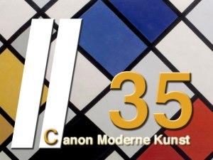 Theo van Doesburg - Contra-compositie van dissonanten XVI - Moderne Kunst