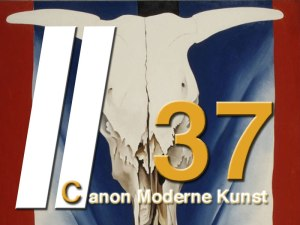 Georgia O'Keeffe - Cow skull: red, white and blue - Moderne Kunst