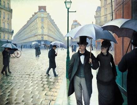 Gustave Caillebotte - Regen in Parijs