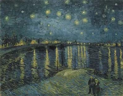 Vincent van Gogh - Sterrennacht
