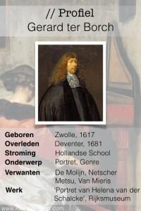 Profiel van de Gouden Eeuw - Gerard ter Borch