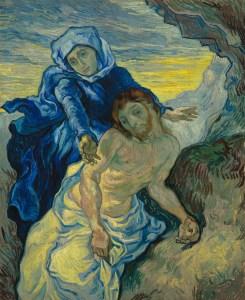Vincent van Gogh - Pietà naar Delacroix