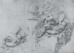 Peter Paul Rubens - Reclining Hercules