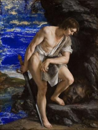 Orazio Gentileschi - David en Goliath
