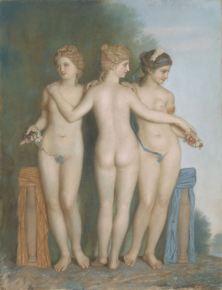 Jean-Étienne Liotard - Les Trois Graces