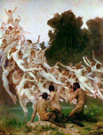 William-Adolphe Bouguereau - Les Oreades