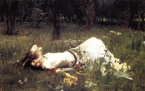 John William Waterhouse - Ophelia