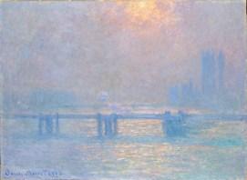 Charing Cross Bridge - Claude Monet